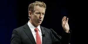Republican presidential candidate Sen. Rand Paul, R-KY, addresses the Sunshine Summit in Orlando, Fla., Saturday, Nov. 14, 2015. (AP Photo/John Raoux)