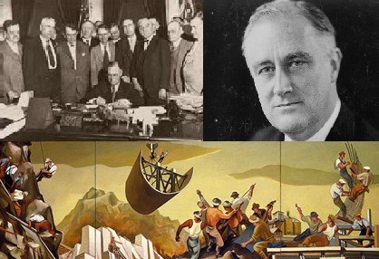 Thought for the day March 30, 2016 Free Trade, the New Deal and the Federal Reserve