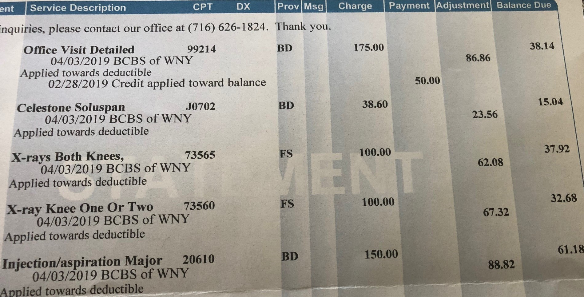 The Culture of Entitlement in Medicine II: Your Invoice is Rejected